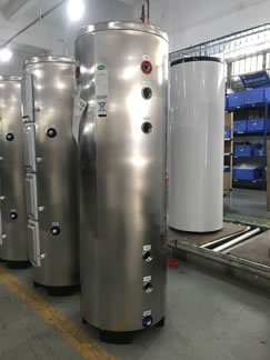 factory picture of buffer tanks