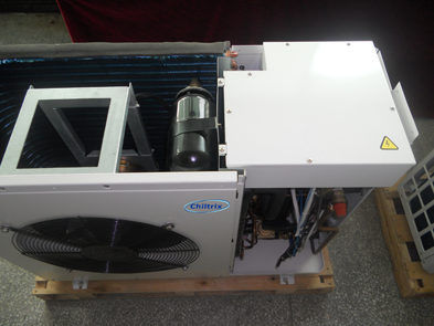 CX30 Chiller ODU with top open